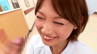 Incredible Japanese girl in Fabulous Nurse, HD JAV movie