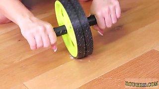 Rough machine squirt and bondage hd AssSlave Yoga