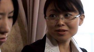Misa Yui - te Aggressive Lesbian Facelicking