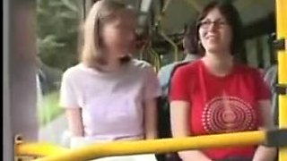 eager sex in the bus, discharged trim