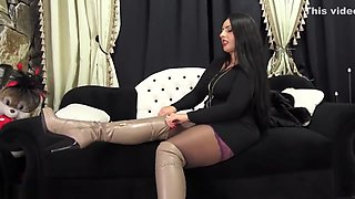 Sniff My Boots And Nylon Feet