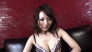 Exotic Japanese chick You Kaiba in Crazy Amateur, Solo Female JAV scene
