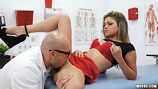 horny doctor fucks sexy female patients
