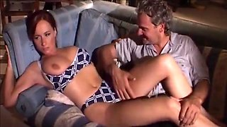 Italian daddy Remigio fuck Katty Moss and her girlfriend