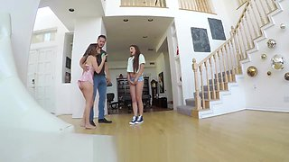 Adria Rae gets caught stealing and blowing a cheating hubby