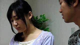 Beautiful Japanese babe gets her peach eaten out and fucked