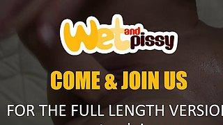 WetAndPissy - Wet Dildo Play