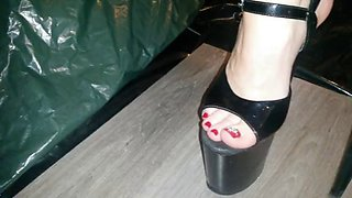 Lady l crush nexus with sexy extreme high heels
