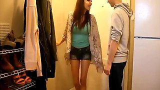 Step Brother and Step Sister Take Turns Fucking Eachother