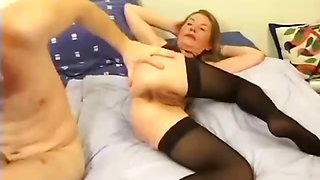 French Mom Deep Anal
