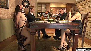 Teal Conrad is a gorgeous brunette, who loves being in bondage