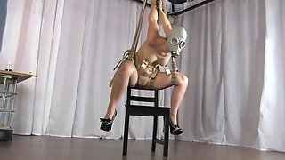 gasmask suspension