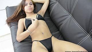 Leticia Little Sheer Bikini