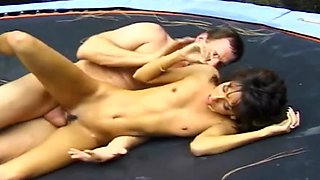 A Cock Blowing And Deep Fuck