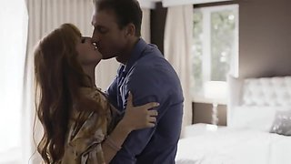 Cheating housewife Penny Pax surprised by her husband