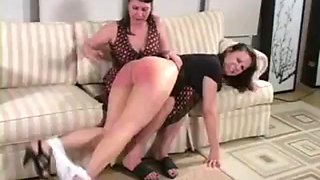 Blistering otk spanking