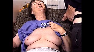 Mature granny Clara 51 fucking with her young lover