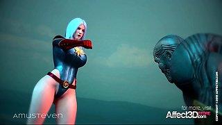 The Lust Avenger 3d animation