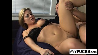 Avy Scott gets a little taste of Czech with her foreign