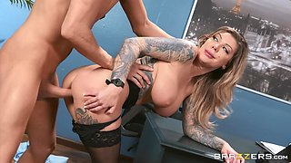 Naughty girl Karma RX fucks in all possible ways with her boyfriend