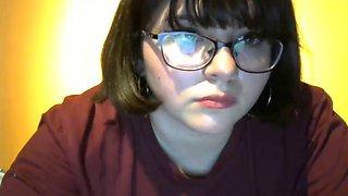 Webcam show asshole