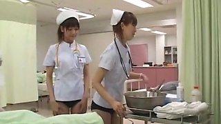 Exotic Japanese model Ryo Sena, Rei Mizuna, Nao Mizuki in Fabulous Medical JAV video