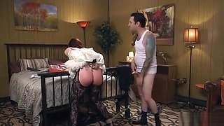 Big ass slut loves rough anal sex
