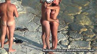 Hot Europe Beach Amateur Nudists Voyeur Pack