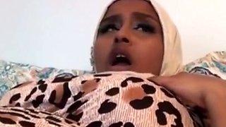 Hijab arab somal fapping