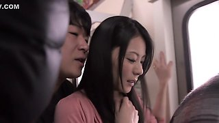 Nana Aida in Married Woman Conductor part 3