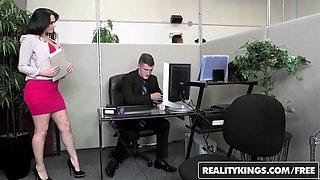 RealityKings - Monster Curves - Brick Danger Ryan Smiles - Office Fling