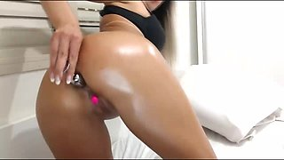American Babe Amazing Anal Fingering