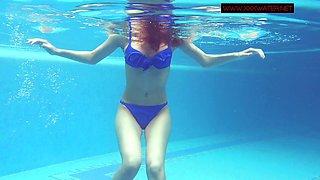 Lina Mercury hot Russian underwater submersion