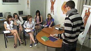 CFNM Orgy with 18yo Schoolgirls