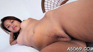 Astonishing eastern Laiza in extreme sex