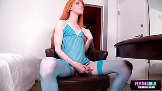 Fay valentine loves big cock between her legs