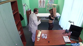 Candy Alexa tells her doctor that she needs a dick as her medication