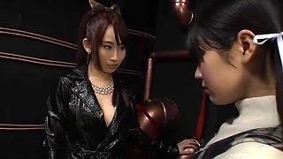 Fingering porn video featuring Sayo Arimoto and Yui Misaki