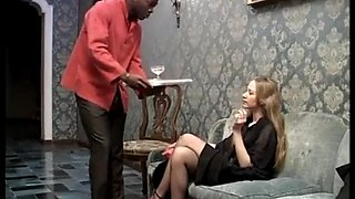 Smoking blonde russian gets bbc