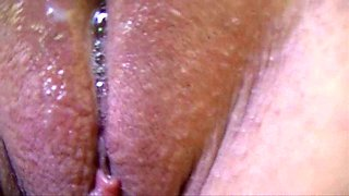 Creamy wet pussy