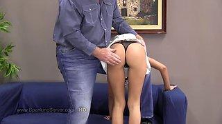 Butt spanking tyron