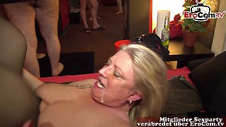 german milf creampie gangbang sexparty with real user
