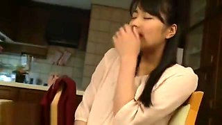 Japanese wife cheats husband with rude boss