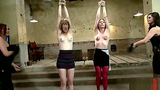 Group Domination Fuck With White Horny Hotties