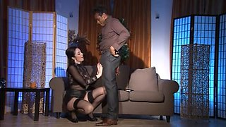 Exotic Stockings clip with Interracial,Italian scenes