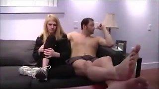 Blonde daughter allie fucks her dad