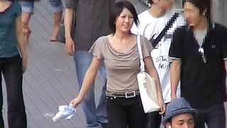 Charming ladies recorded on a working hidden camera