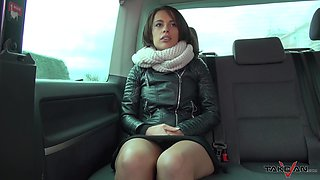 Car fucking makes brunette Nikita especially wet and horny