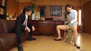 Sex with his boss at office
