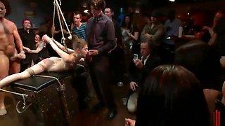 Princess Donna Dolore, Mark Davis and Sensi Pearl in hot bdsm group action